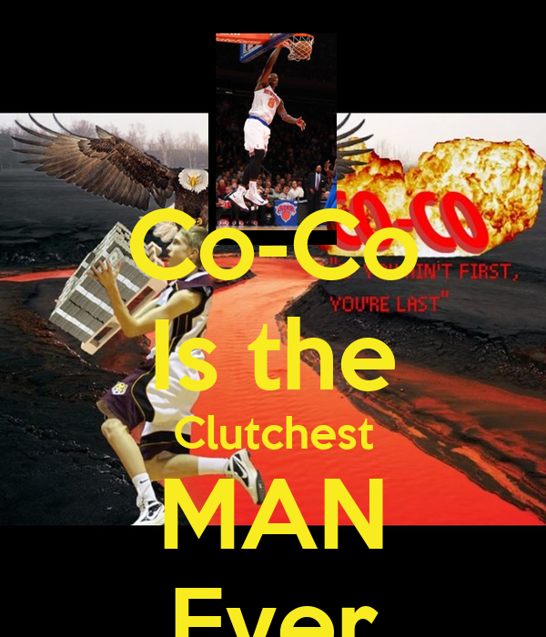 Co-Co Is the Clutchest MAN Ever