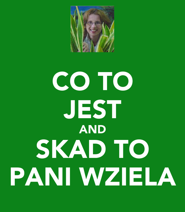 CO TO JEST AND SKAD TO PANI WZIELA