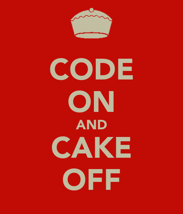 CODE ON AND CAKE OFF