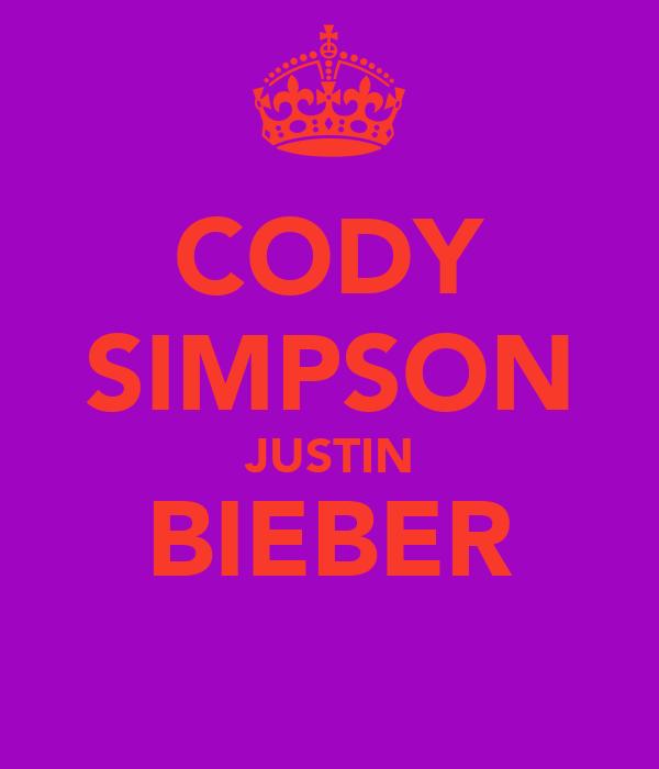 CODY SIMPSON JUSTIN BIEBER