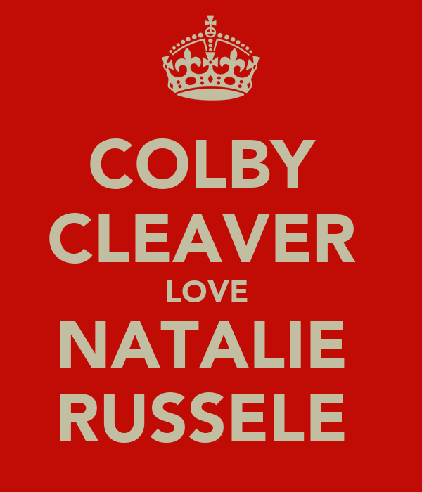 COLBY  CLEAVER  LOVE  NATALIE  RUSSELE