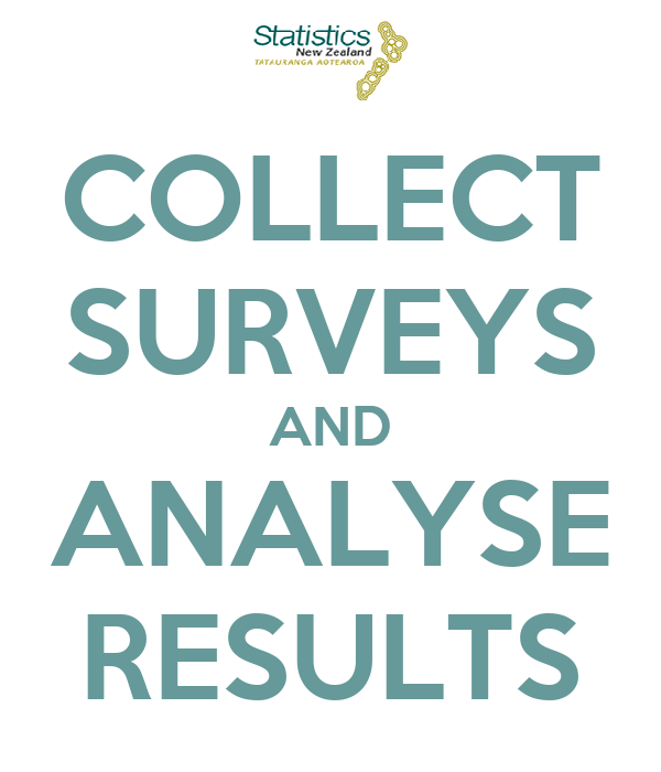 COLLECT SURVEYS AND ANALYSE RESULTS