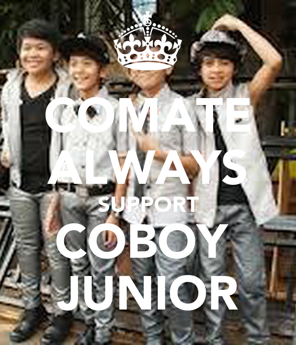 COMATE ALWAYS SUPPORT COBOY  JUNIOR