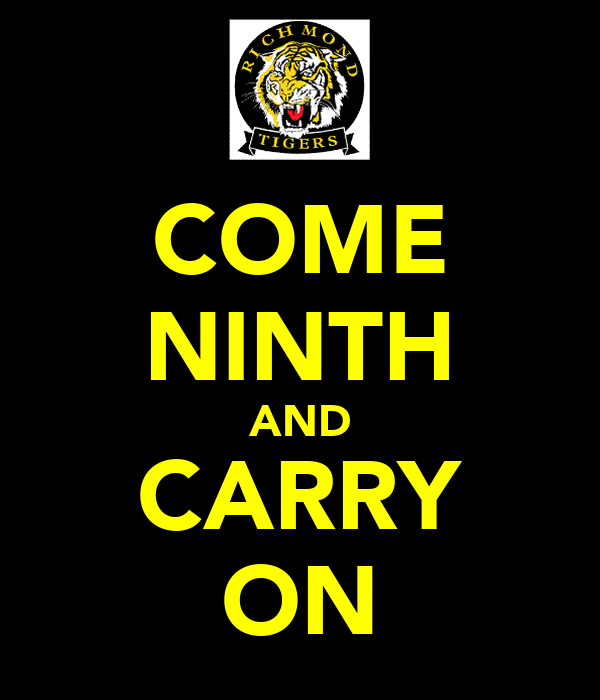COME NINTH AND CARRY ON