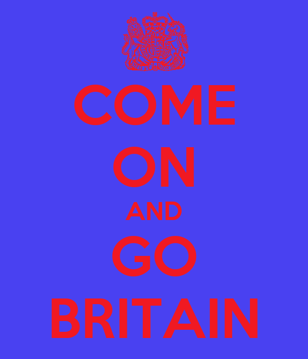 COME ON AND GO BRITAIN