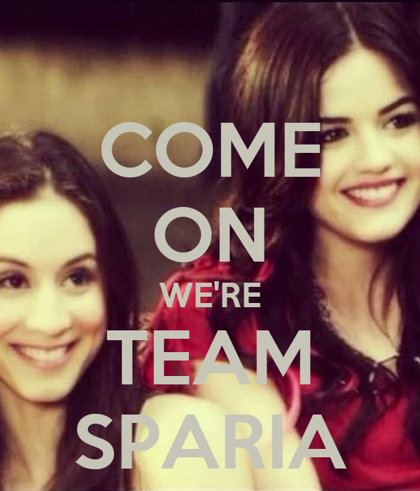 COME ON WE'RE TEAM SPARIA