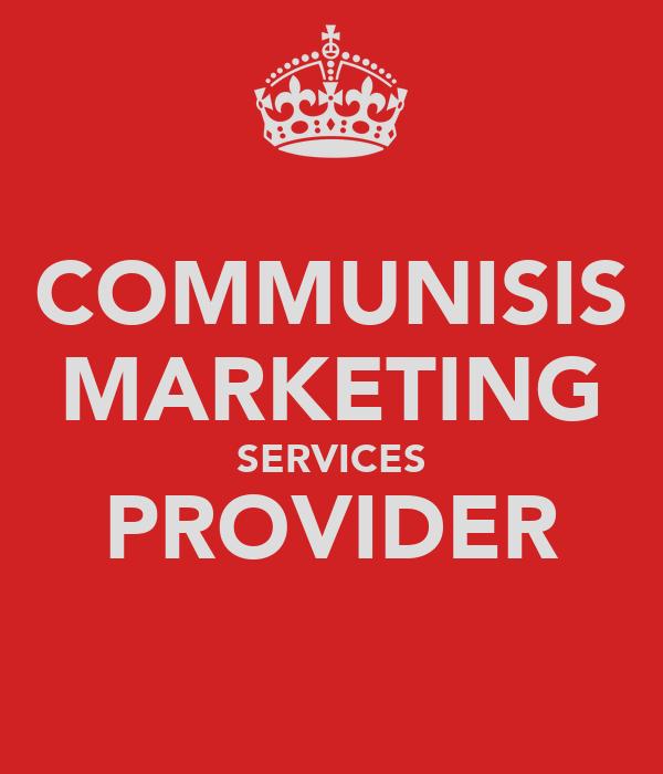 COMMUNISIS MARKETING SERVICES PROVIDER