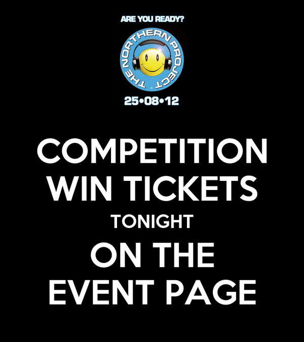 COMPETITION WIN TICKETS TONIGHT ON THE EVENT PAGE