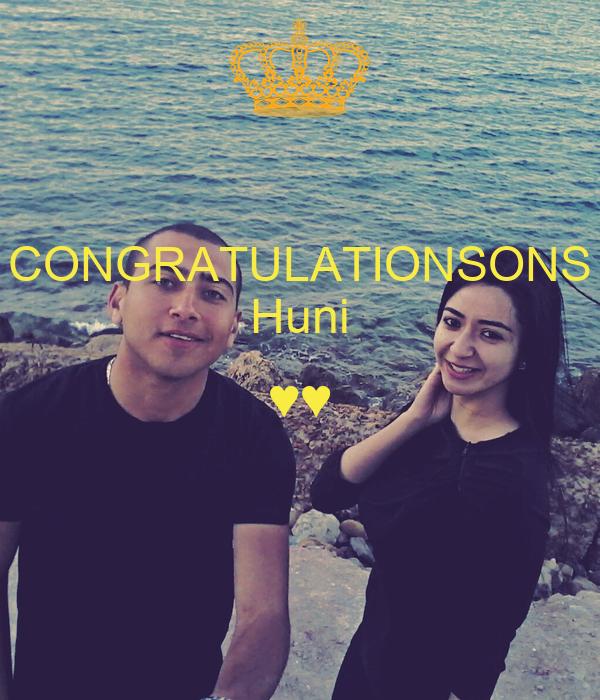 CONGRATULATIONSONS Huni ♥♥