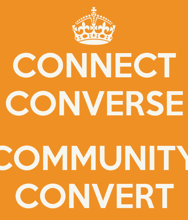 CONNECT CONVERSE  COMMUNITY CONVERT
