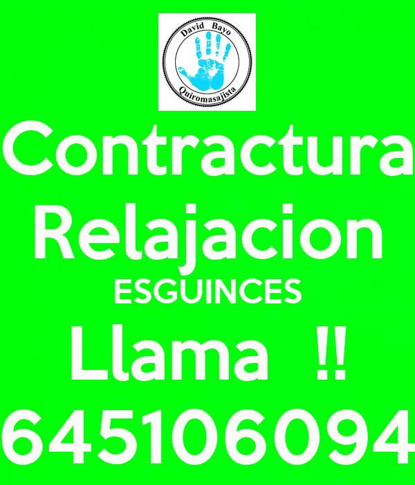 Contractura Relajacion ESGUINCES Llama  !! 645106094