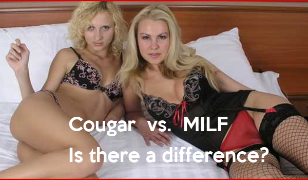 Cougar Vs Milf