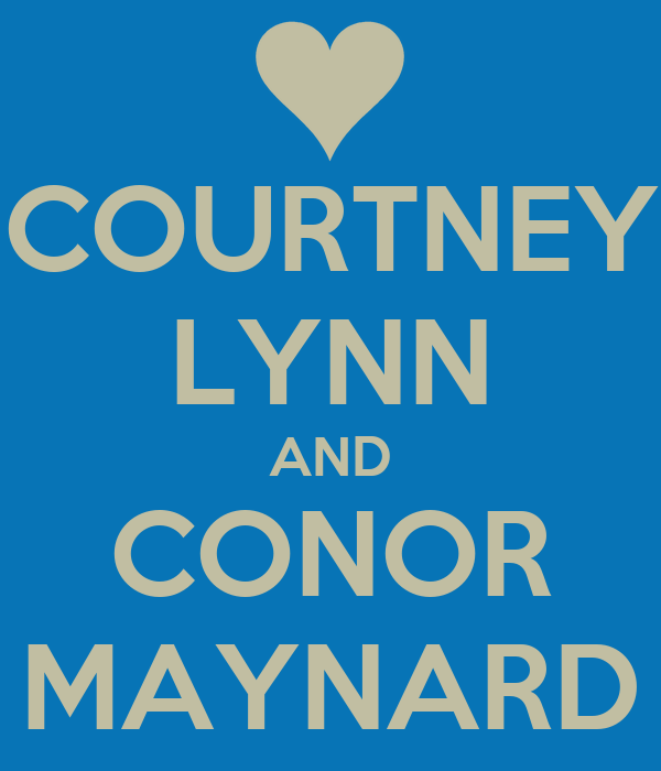 COURTNEY LYNN AND CONOR MAYNARD