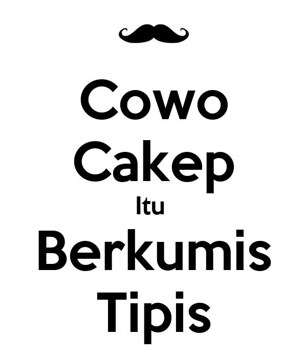 Cowo Cakep Itu  Berkumis Tipis
