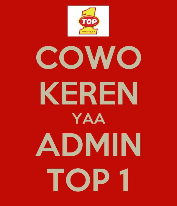 COWO KEREN YAA ADMIN TOP 1