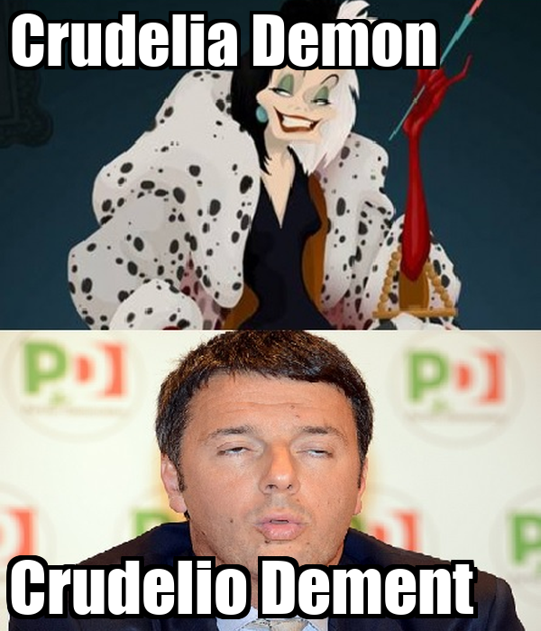 Crudelia Demon         Crudelio Dement