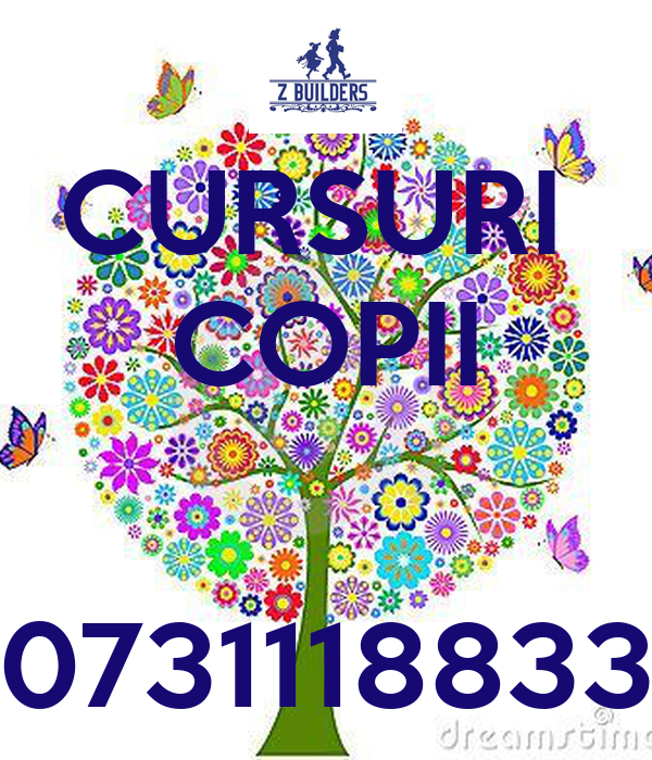 CURSURI  COPII   0731118833