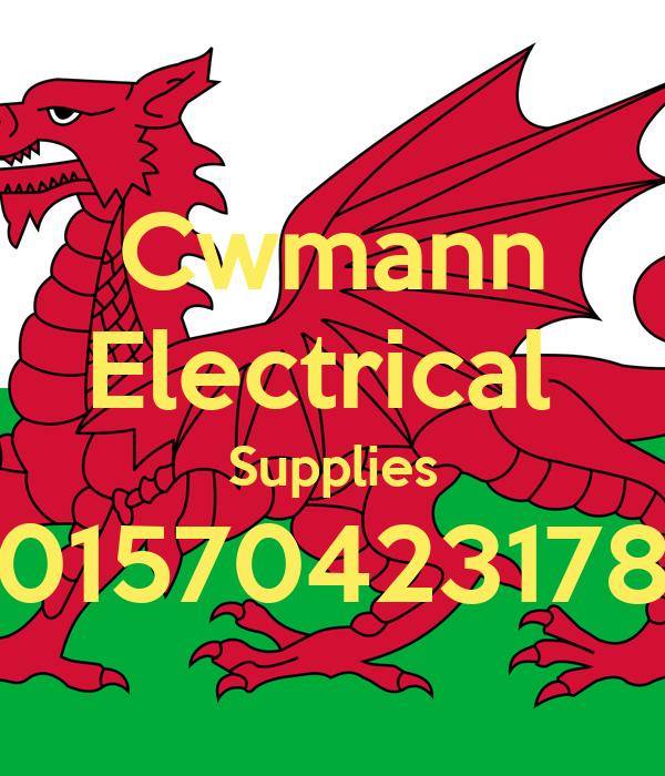 Cwmann Electrical  Supplies 01570423178