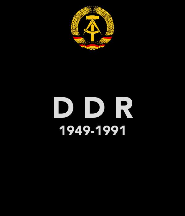 D D R 1949-1991