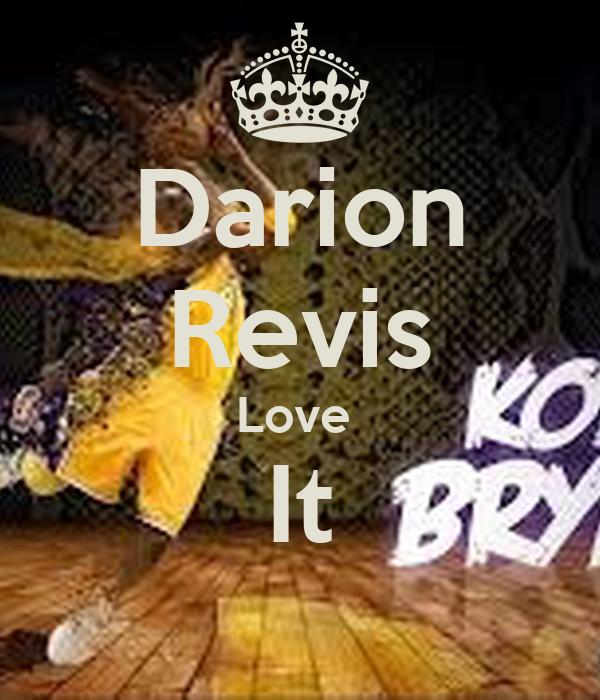 Darion Revis Love  It