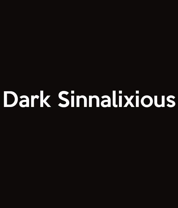 Dark Sinnalixious