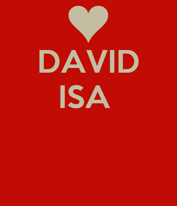 DAVID ISA