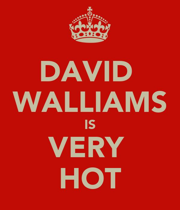 DAVID  WALLIAMS IS VERY  HOT