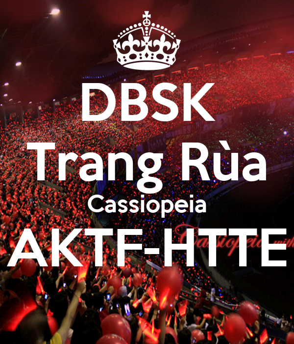 DBSK Trang Rùa Cassiopeia AKTF-HTTE