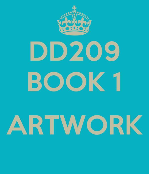 DD209 BOOK 1  ARTWORK