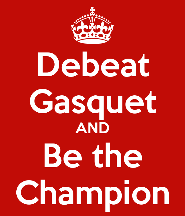 Debeat Gasquet AND Be the Champion