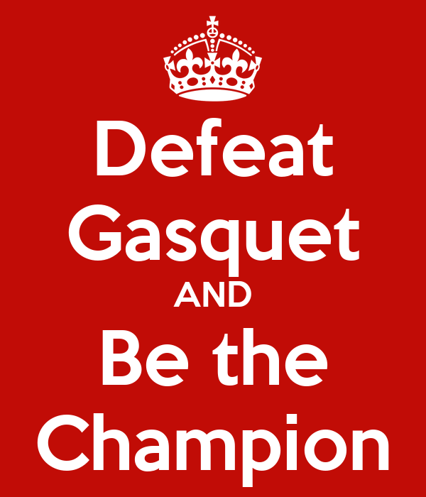 Defeat Gasquet AND Be the Champion