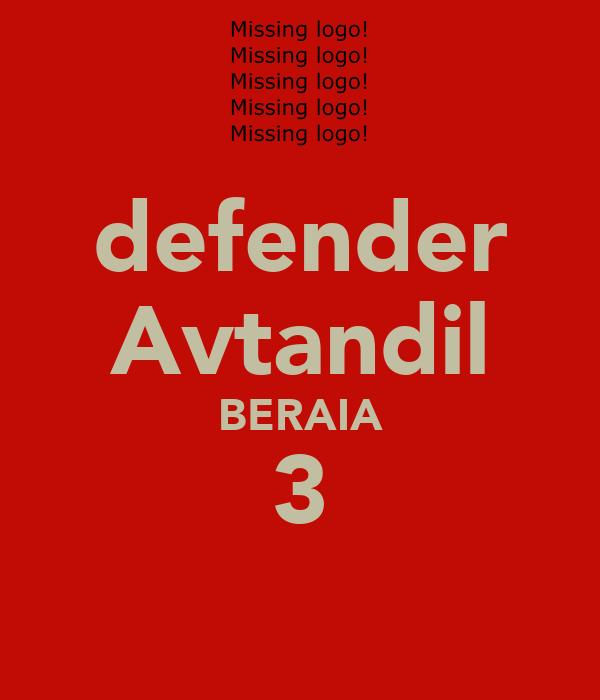 defender Avtandil BERAIA 3