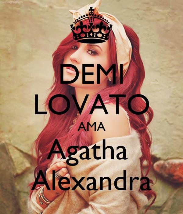 DEMI LOVATO AMA Agatha  Alexandra
