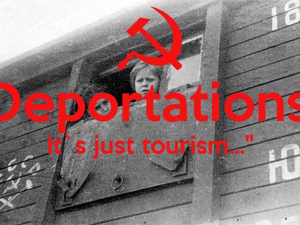 """""""Deportations? It`s just tourism...""""  ENVOLVENTE"""