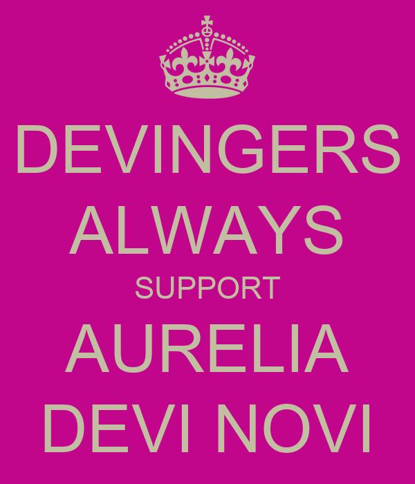 DEVINGERS ALWAYS SUPPORT AURELIA DEVI NOVI