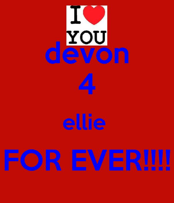 devon 4 ellie  FOR EVER!!!!