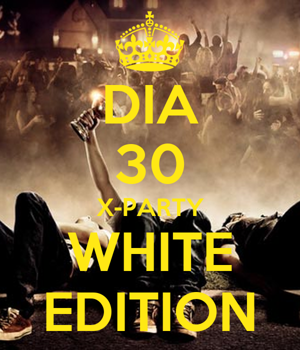 DIA 30 X-PARTY WHITE EDITION