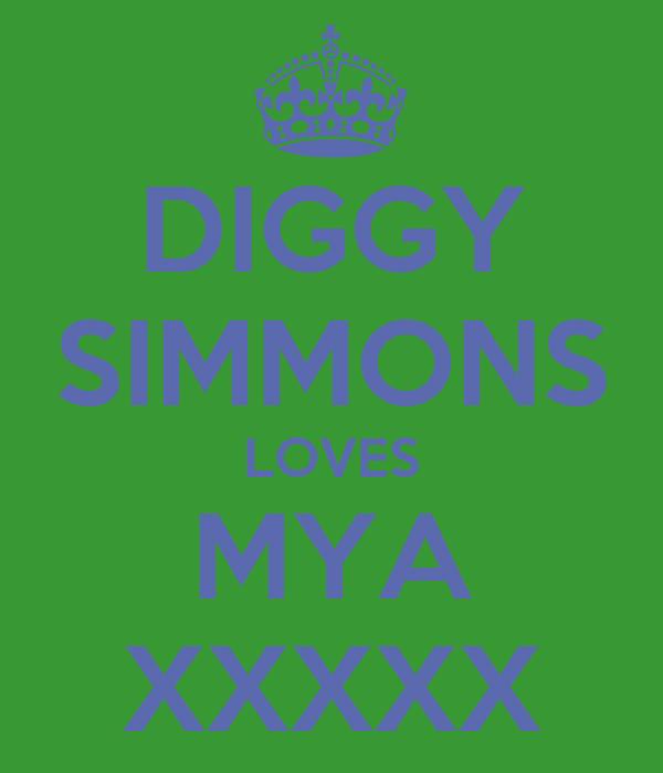 DIGGY SIMMONS LOVES MYA XXXXX