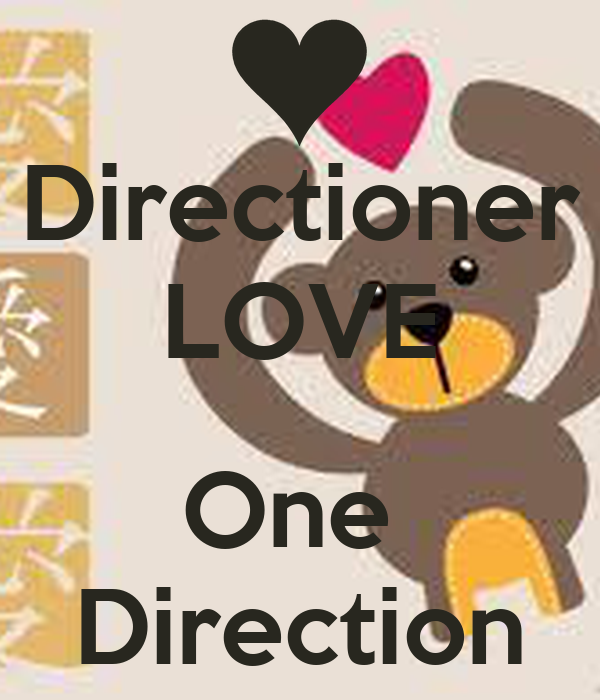 Directioner LOVE  One  Direction