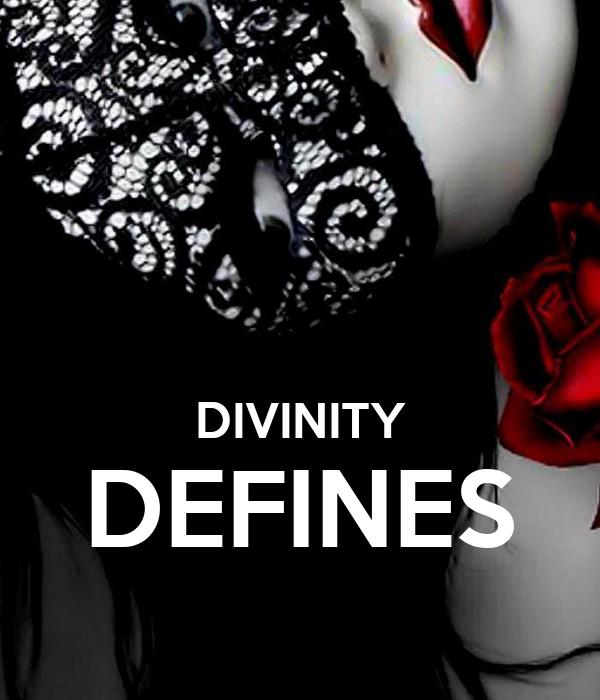 DIVINITY DEFINES