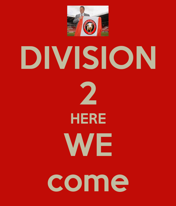 DIVISION 2 HERE WE come