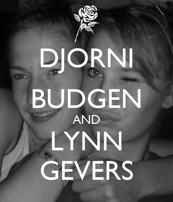 DJORNI BUDGEN AND LYNN GEVERS