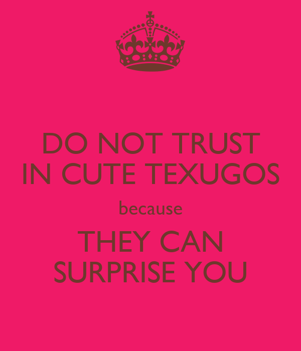 DO NOT TRUST IN CUTE TEXUGOS because THEY CAN SURPRISE YOU