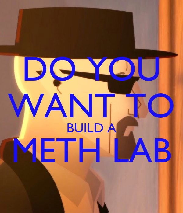 DO YOU WANT TO BUILD A METH LAB