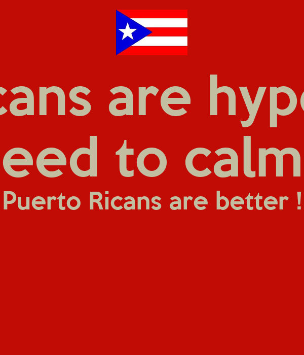 Dominicans are hype today  Y'all need to calm down Puerto Ricans are better !
