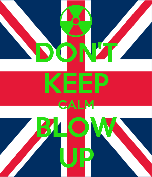 DON'T KEEP CALM BLOW UP