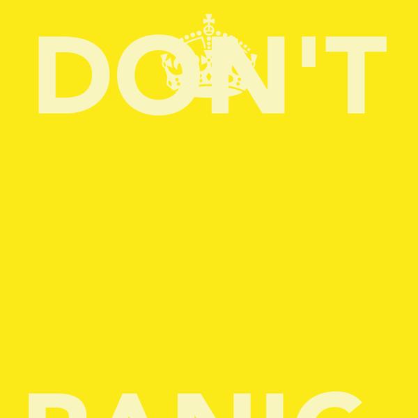 DON'T  PANIC.