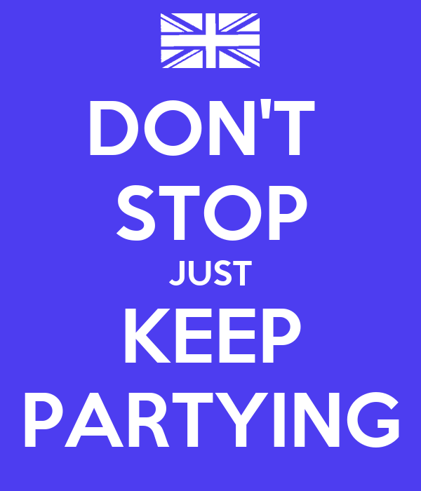 how to stop yourself from partying