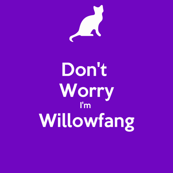 Don't  Worry I'm  Willowfang
