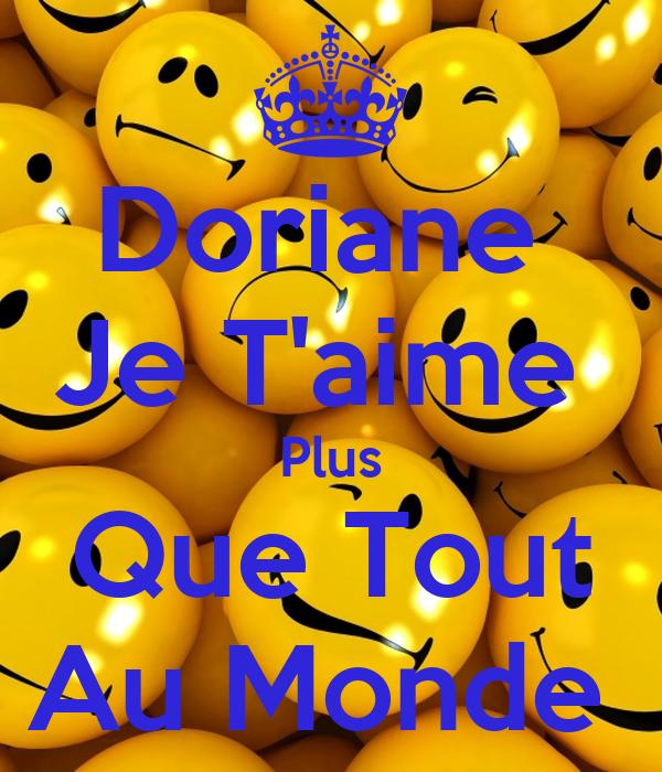 Doriane  Je T'aime  Plus Que Tout Au Monde